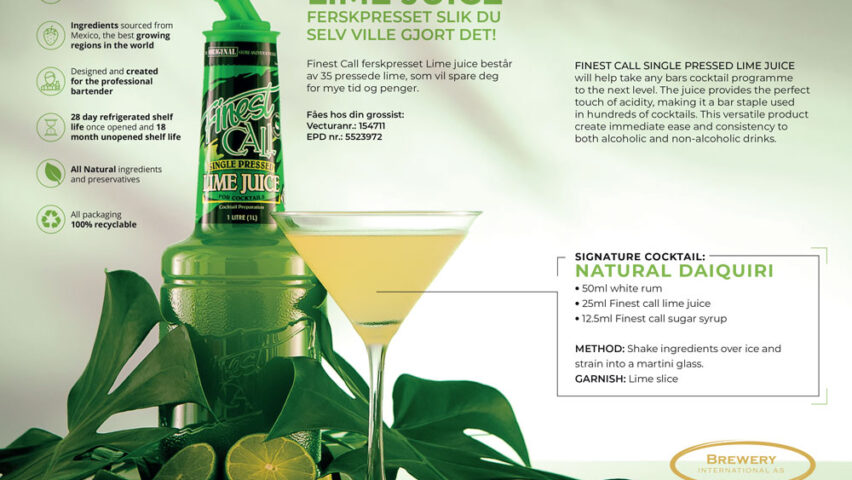 FinestCall Lime drinkmix
