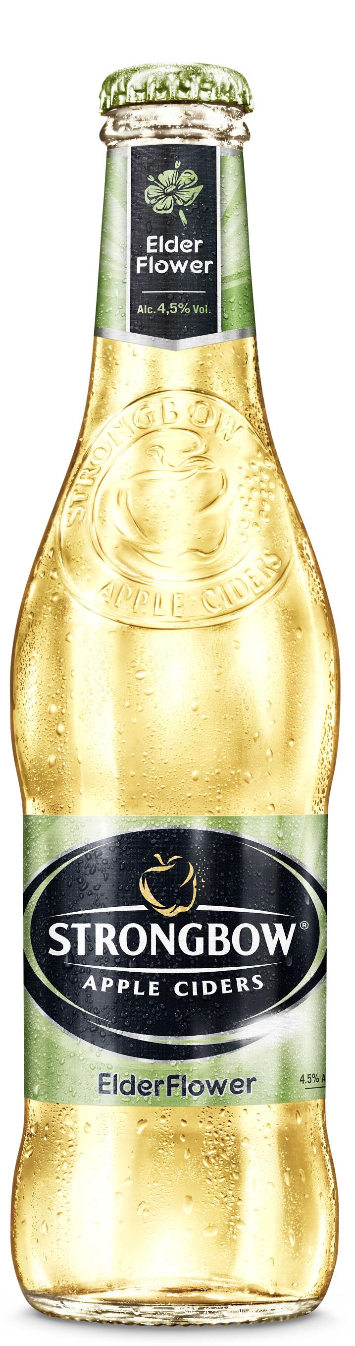 Strongbow Elderflower Cider Brewery International