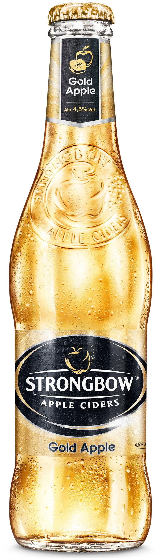 Strongbow Golden Apple Cider Brewery International